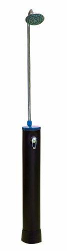 Speedshower - Ducha solar (depósito de PVC de 20 l, batería mixta, monomando, con soporte para toallas)